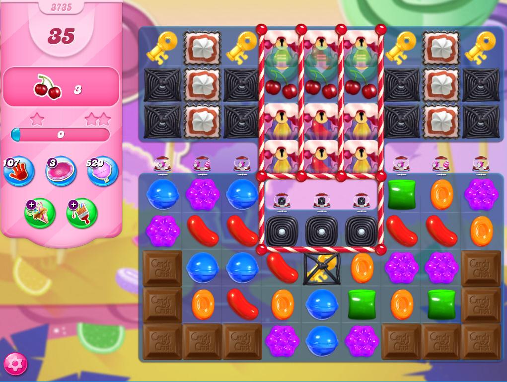Candy Crush Saga level 3735