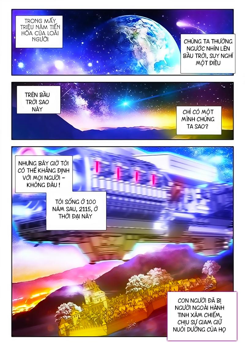 Sổ Tay Nuôi Trồng Người Ngoài Hành Tinh chap 1 - Trang 3