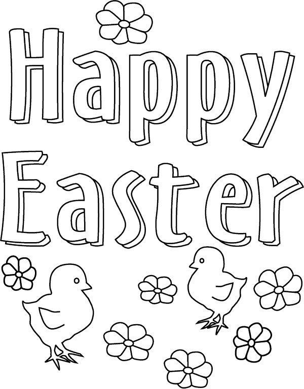 easter coloring pages to | For Kids Easter Coloring Pages >> Disney Coloring Pages