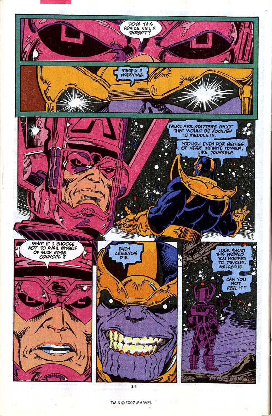 Read online Silver Surfer (1987) comic -  Issue #48 - 26