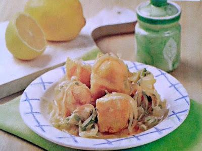 Gambar Resep Tahu Saus Lemon