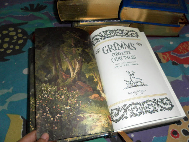 Barnes & Noble Leatherbound Grimms Fairy Tales