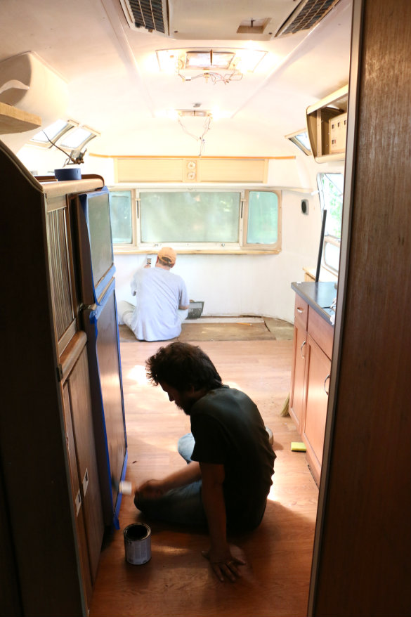 Project Airstream: Painting & Planning | 17 Apart