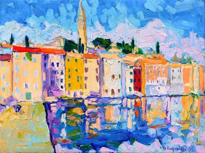 Хорватский художник.