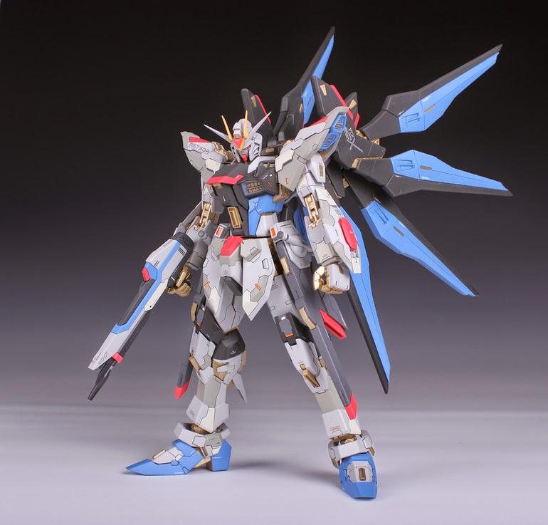 GUNDAM GUY: MSB 1/100 Strike Freedom Gundam [Garage Kit