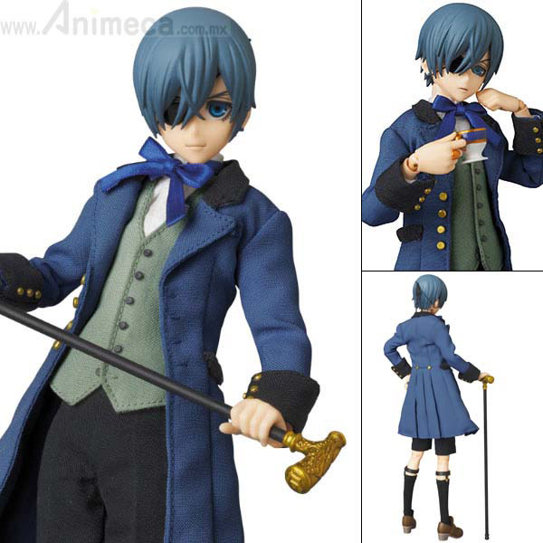 FIGURA CIEL PHANTOMHIVE REAL ACTION HEROES No.720 Kuroshitsuji Book of Circus
