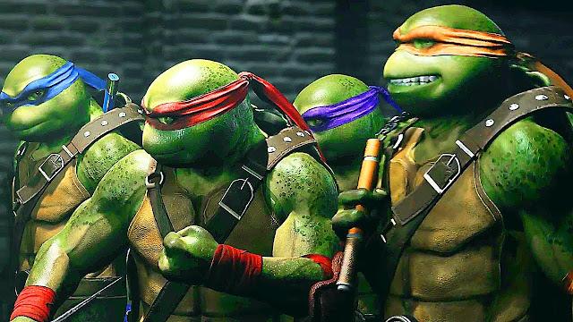 Injustice 2 Tartarugas Ninja