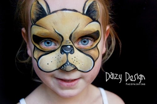 09-Christy Lewis Daizy-Face Painting - Alternate Personalities-www-designstack-co