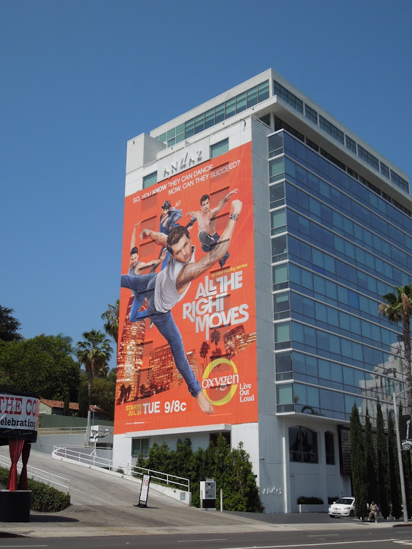 All The Right Moves billboard