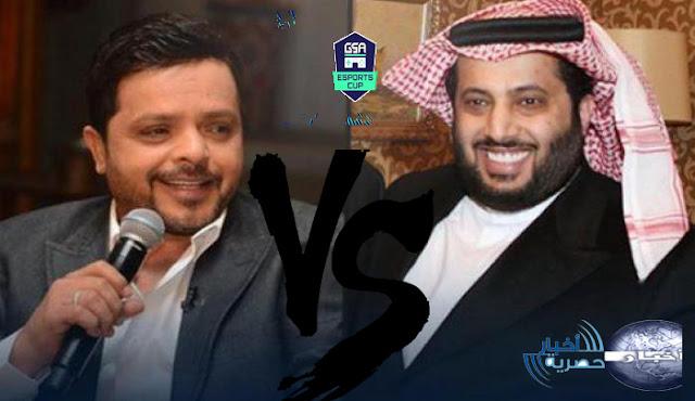 محمد هنيدي يتحدي تركي أل شيخ في بطولة فيفا 2018