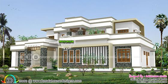 4000 square feet 4 bedroom modern luxury house