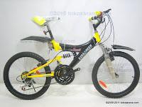 1 Sepeda Gunung EVERGREEN RANGER 18 Speed 20 Inci