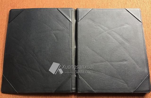 bìa hồ sơ da