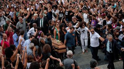 Lo que canta el pueblo brasileño luego del asesinato de marielle franco
