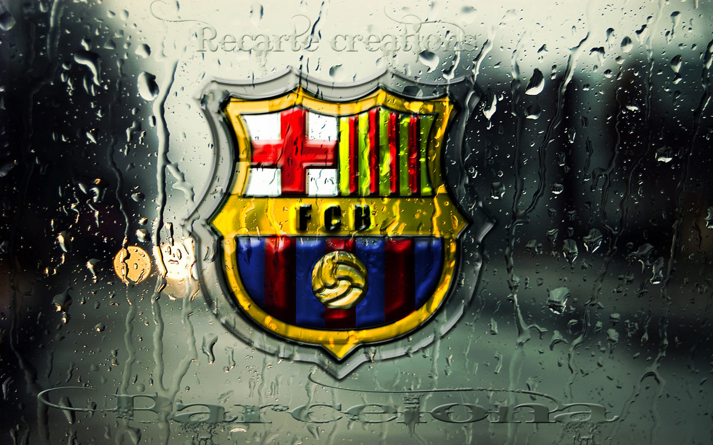 FC Barcelona Logo HD Wallpapers 2013-2014
