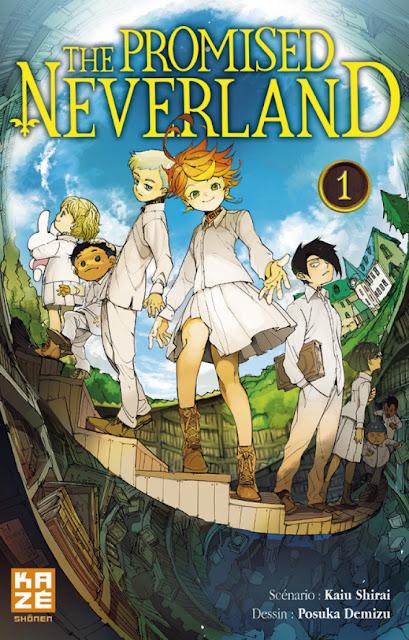 Kazé Manga, The Promised Neverland, Manga, Actu Manga, Kaiu Shirai, Posuka Demizu, Weekly Shonen Jump,