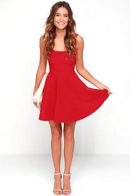Vestidos de moda Rojos