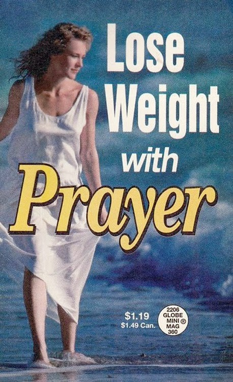Funny Prayer Diet Weightloss Book - Lose weight with prayer