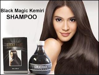 Jual Produk Black Magic Kemiri Shampoo 100% Alami