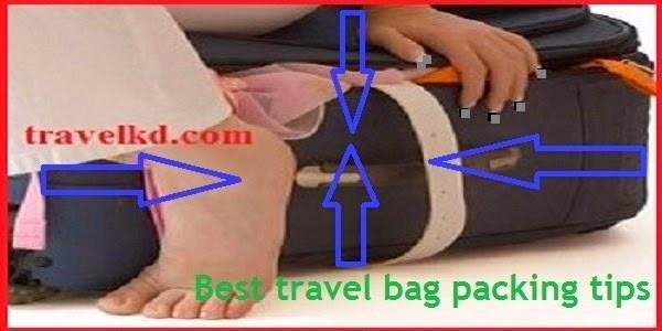 Best travel bag packing tips