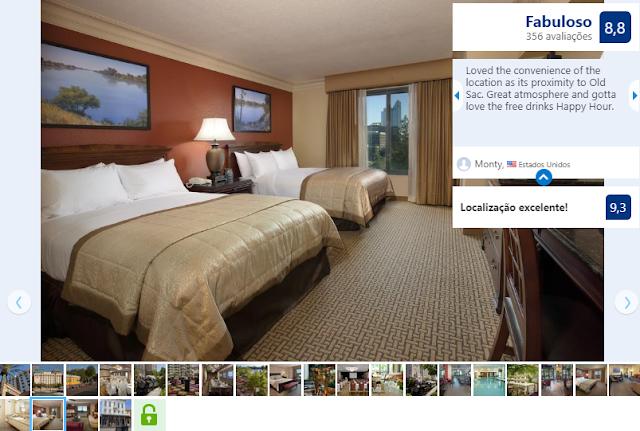 Hotel Embassy Suites Sacramento - Riverfront Promenade para ficar em Sacramento