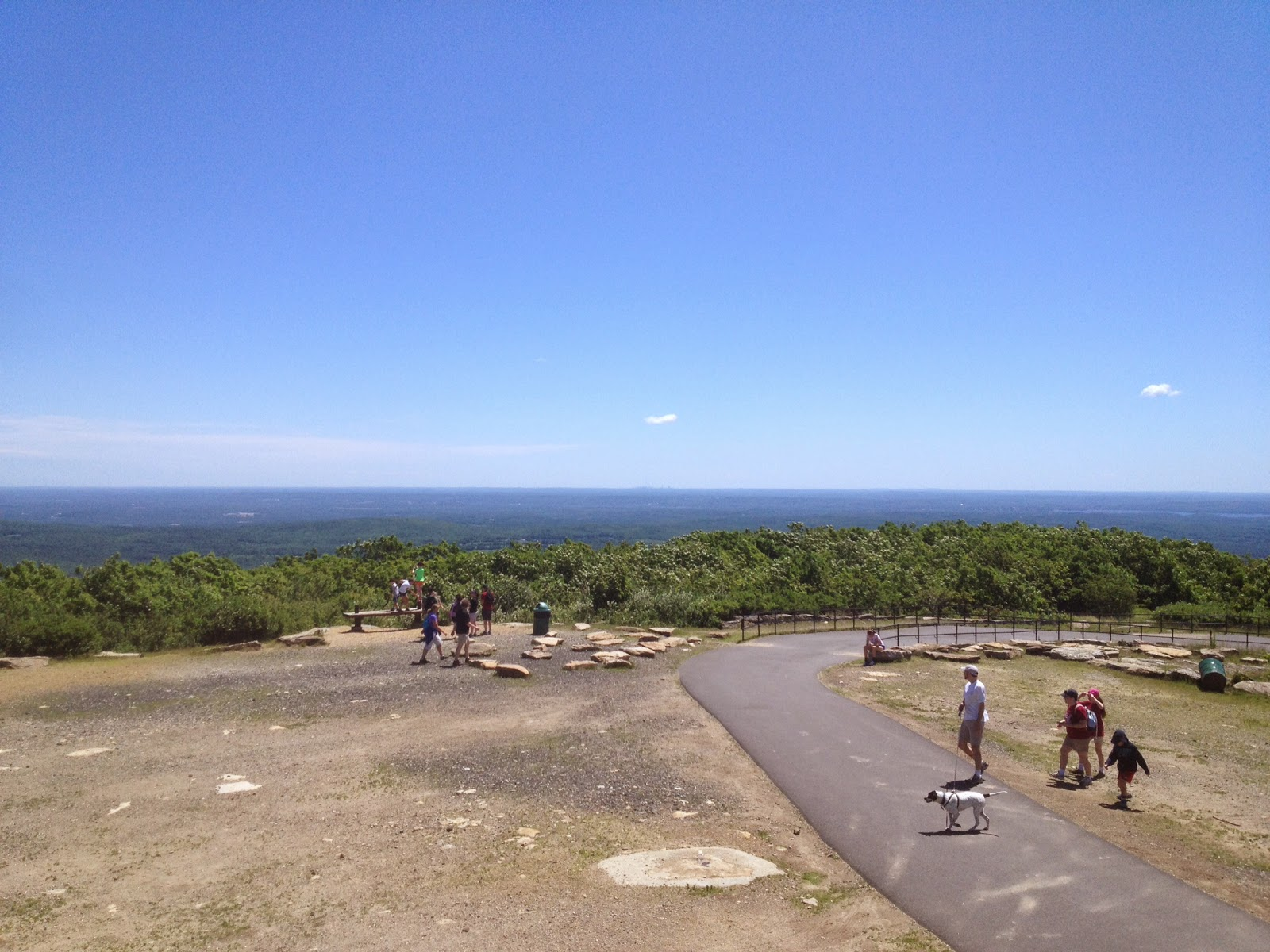 top of Wachusett Mountain