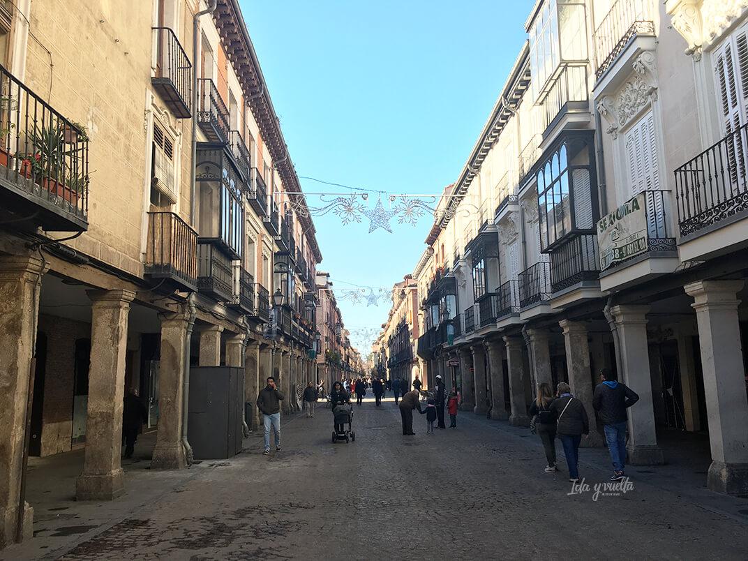 Vista de la calle Mayor