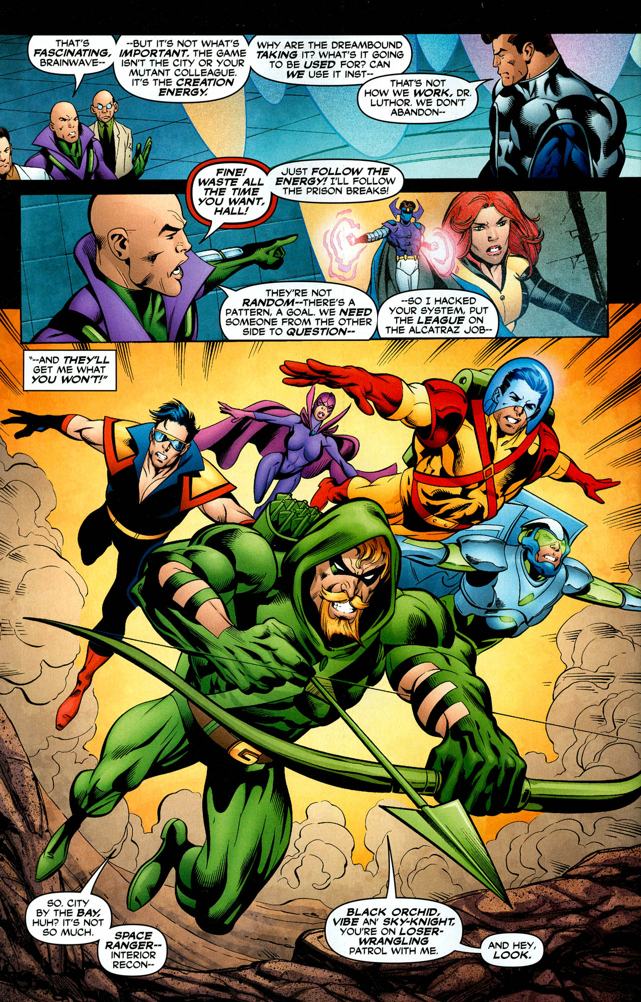 Read online Trinity (2008) comic -  Issue #29 - 17