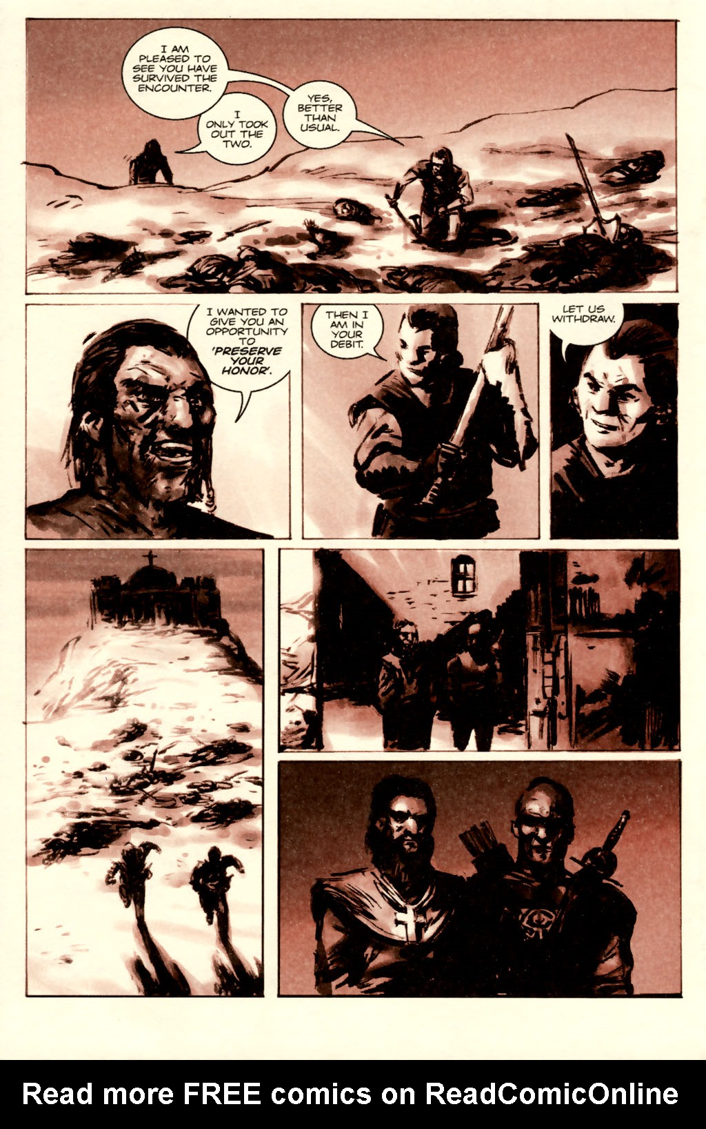 Read online Sea of Red comic -  Issue #5 - 12
