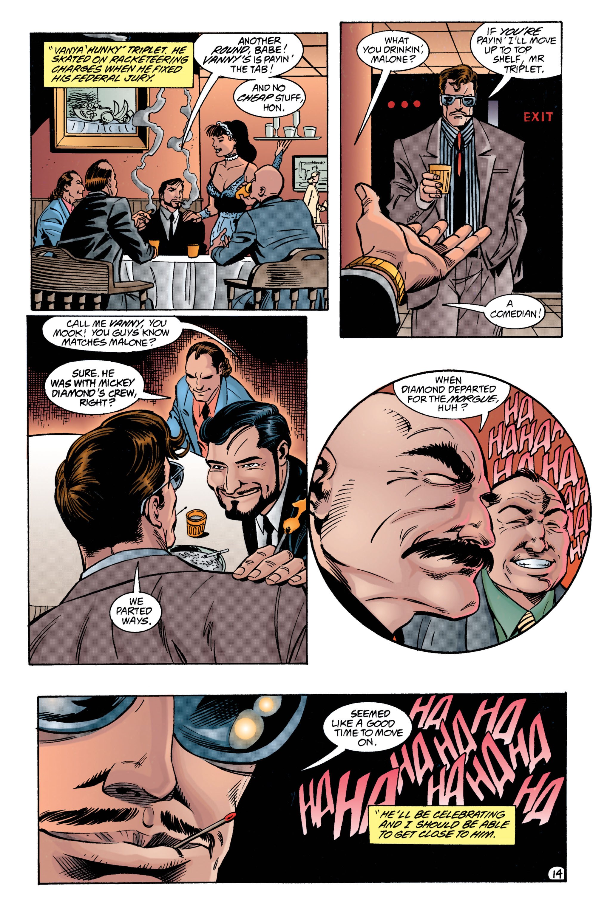 Detective Comics (1937) 698 Page 13