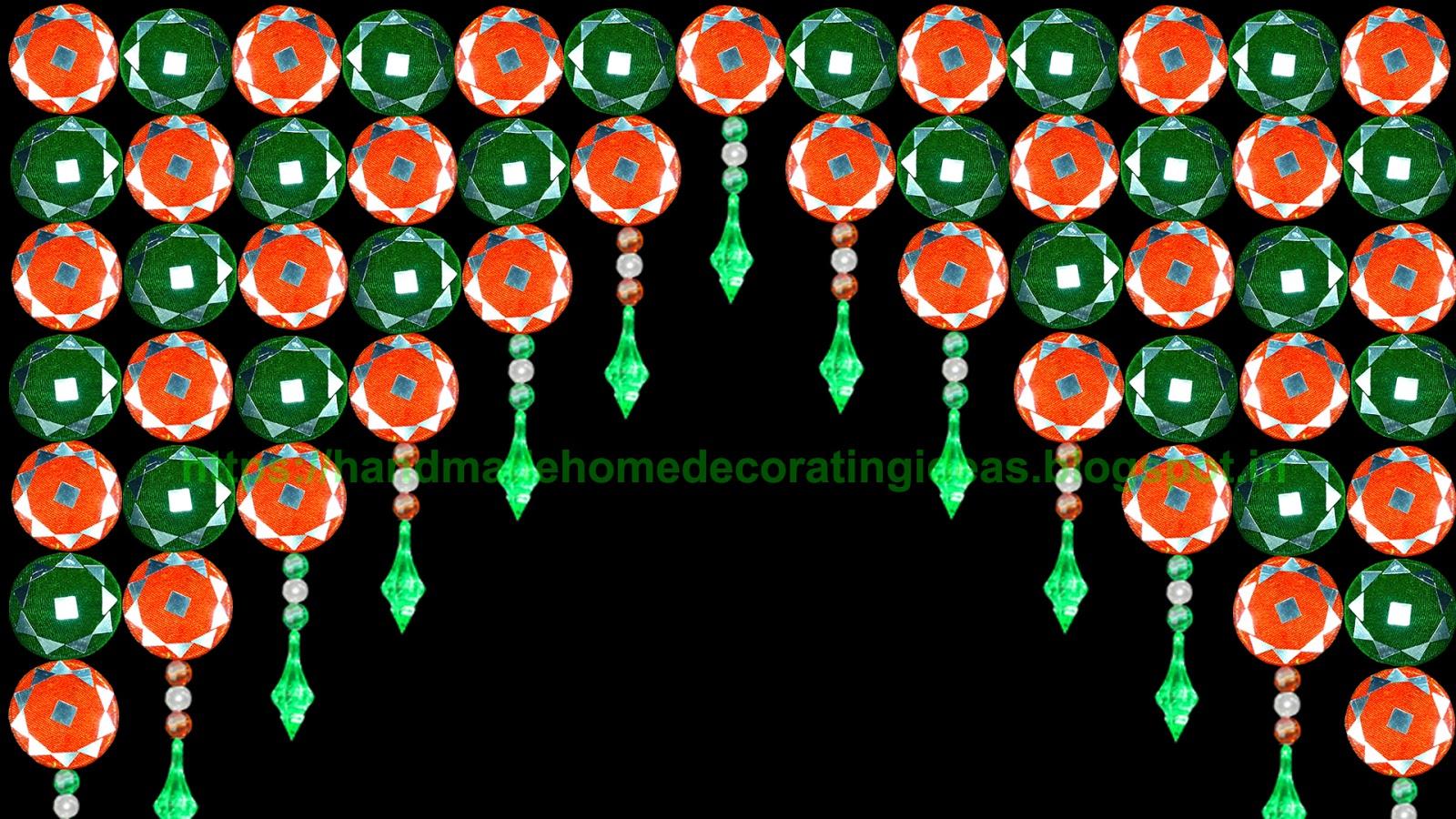 Home Decorating Ideas Diy Door Hanging Toran How To Make Toran