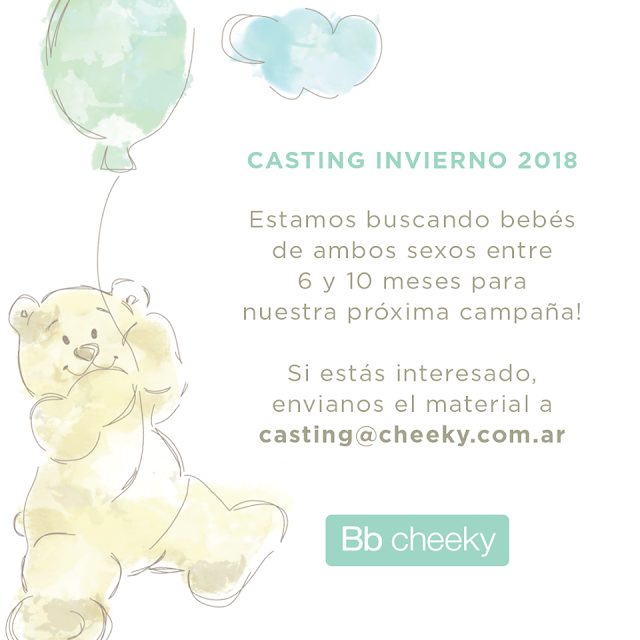 CASTING BEBÉS 2018: CHEEKY INVIERNO 2018 |CASTING MODA BEBÉS INVIERNO 2018 ARGENTINA