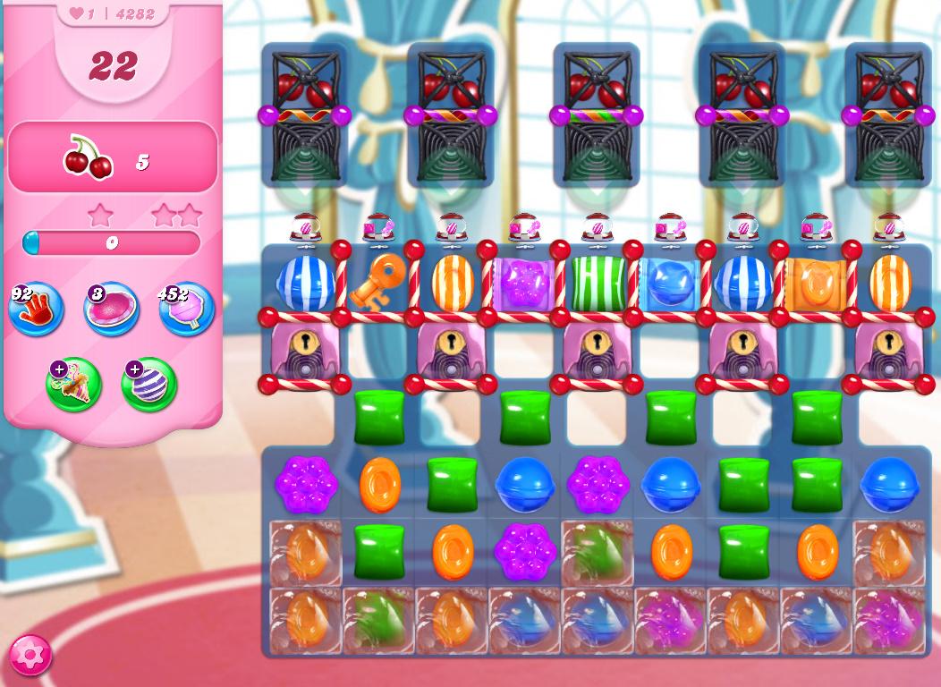 Candy Crush Saga level 4282