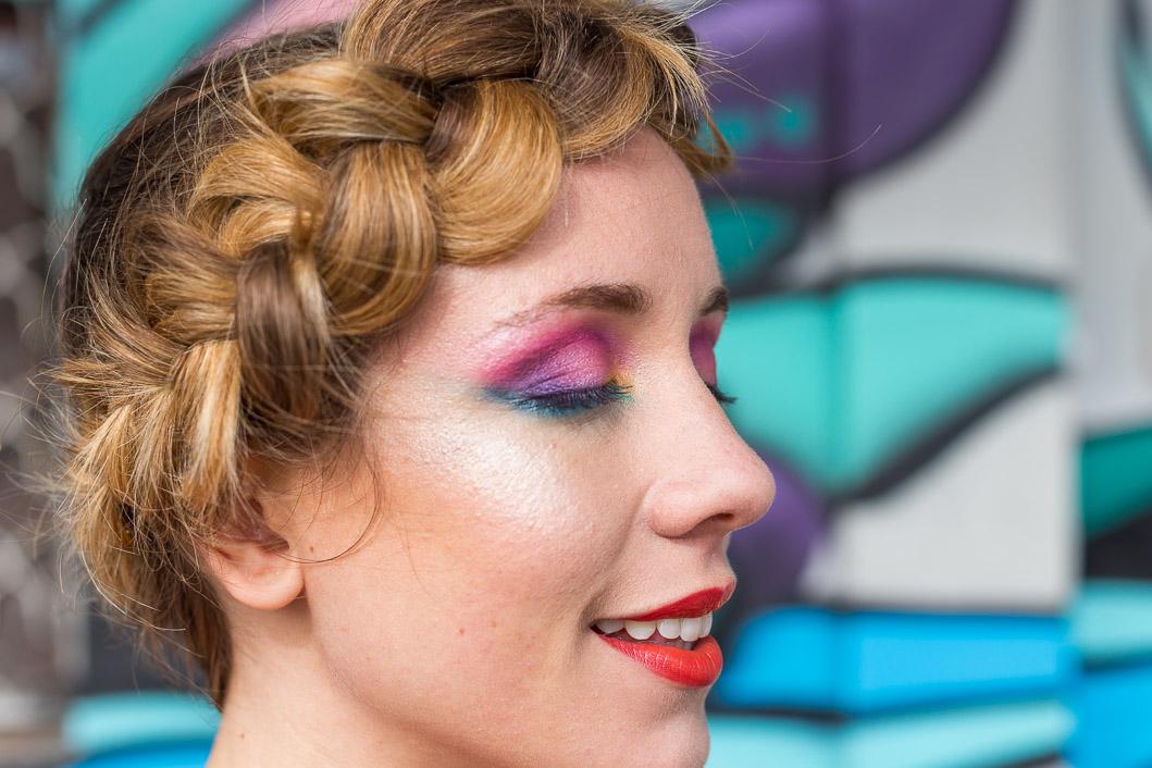 Maquillage paupière couleurs