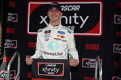 Ford Driver Development teammate, Austin Cindric started from the pole - #NASCAR