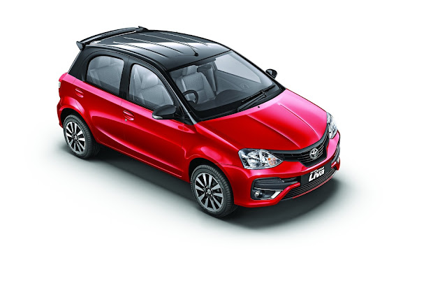 Toyota Kirloskar Motor launches the New Dual Tone Etios Liva, Safe Hatch with Smart Looks