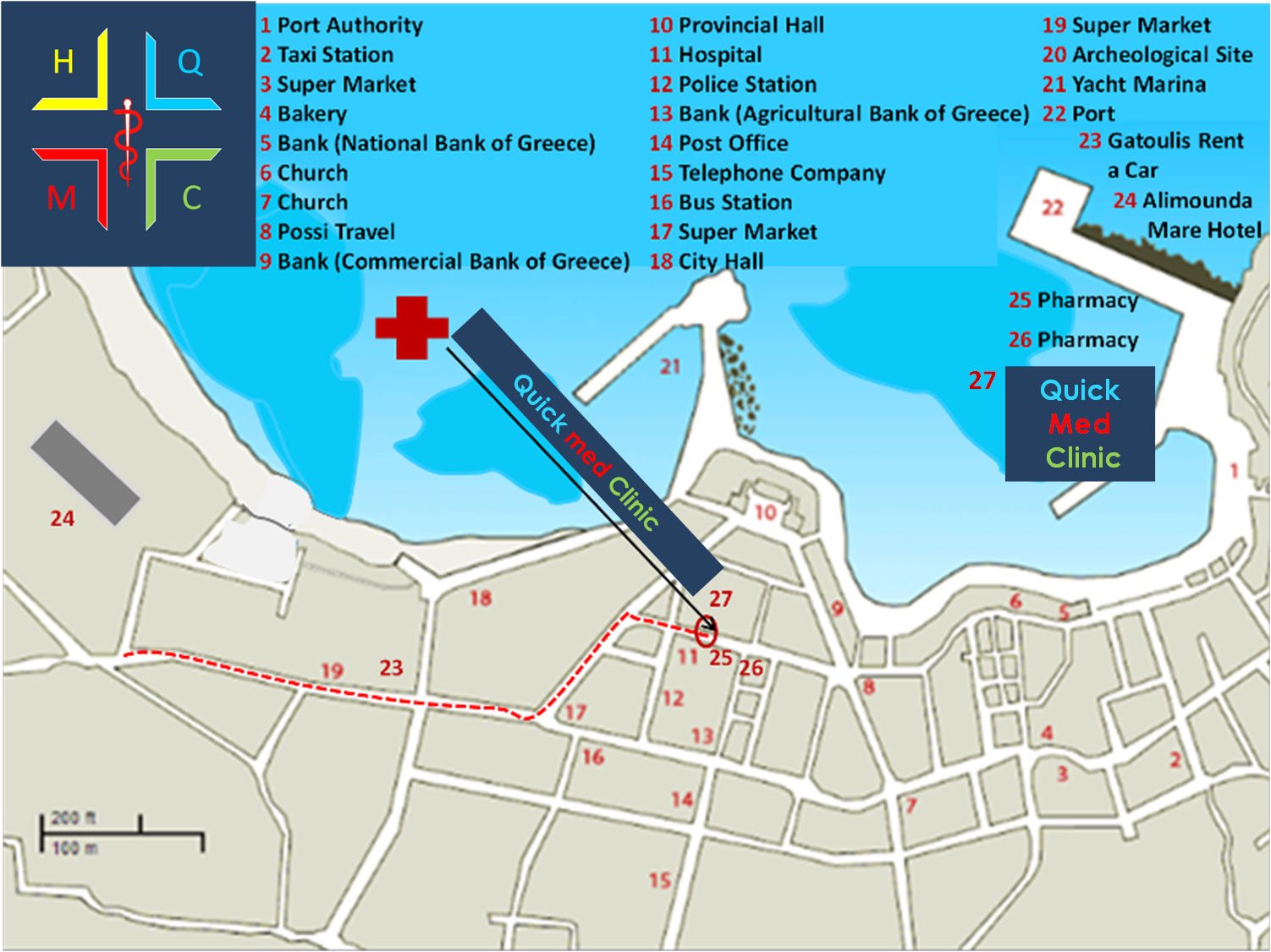 MAP: How you can find our Clinic