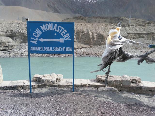 Way to Alchi Monastery
