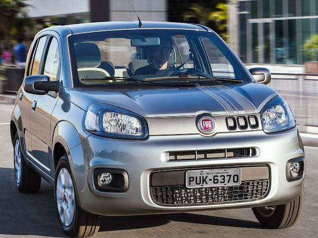 Fiat Uno e Jeep Renegade: recall no Brasil - falha no airbag