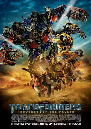 Transformers 2 Revenge of the Fallen (2009) Dual Audio 720p BluRay x264 [Hindi +English] ESubs
