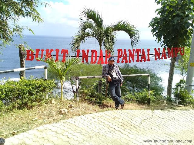 Saya di Bukit Indah Pantai Nampu