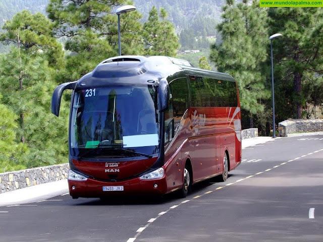 El Cabildo aprueba la reestructuración del servicio de transporte público y la implantación del bono de residente canario y el bono joven