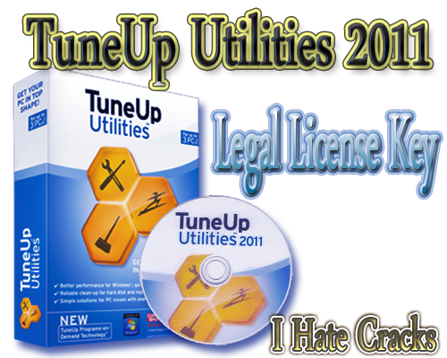 Get TuneUp Utilities 2011 With Genuine And Legal License Key