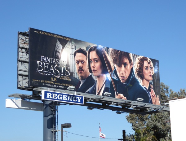 Fantastic Beasts Where to Find Them billboard