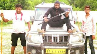 Subodh Kumar Bhagat in film Saali Milal Baa Dahej Me