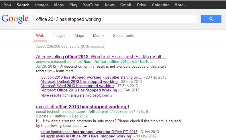 Fixed] Office 2013 has stopped working! - Microsoft Office