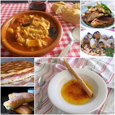 Recetas típicas Españolas