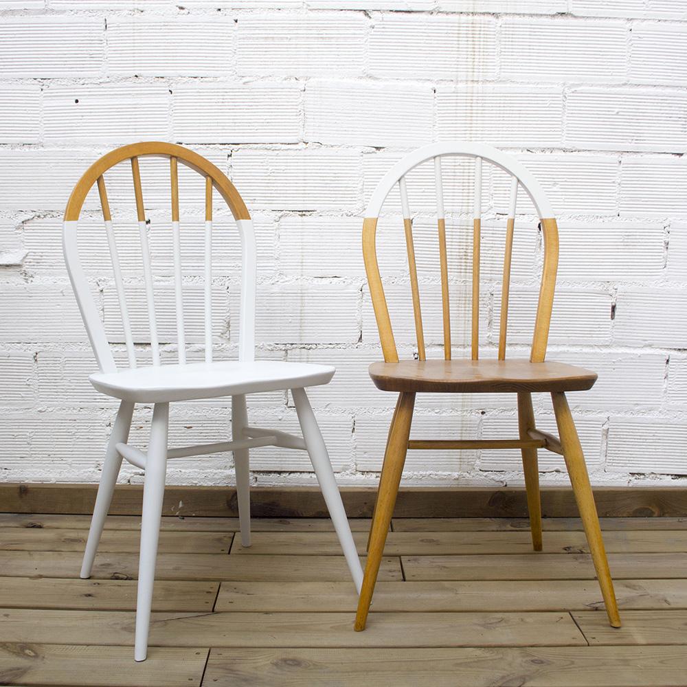 sillas de cocina dip dye