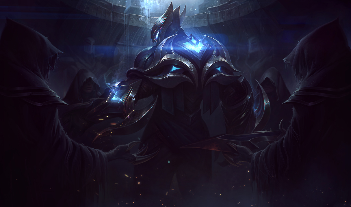 Surrender at 20: 8/30 PBE Update: Championship Zed splash art, Yorick ...