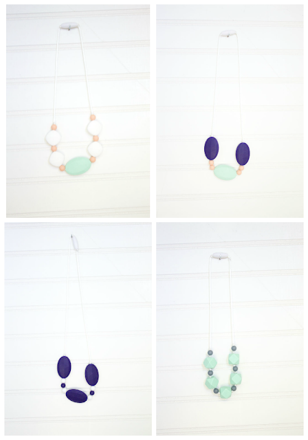 DIY Teething necklace ideas